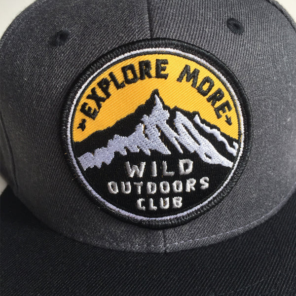 EXPLORE MORE - PREMIUM DENIM SNAPBACK HAT
