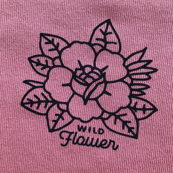 """WILDFLOWER"" CREW NECK SWEATSHIRT"