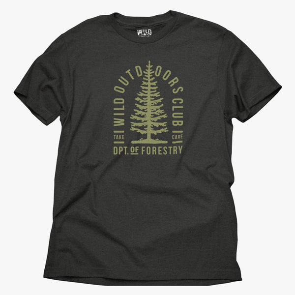 """FORESTRY"" - MENS TEES"