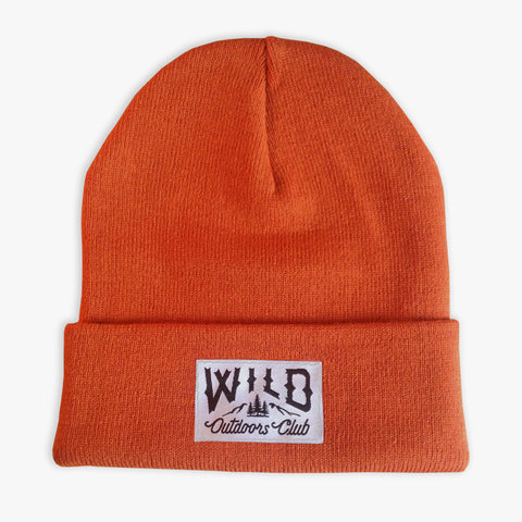 "WILD - ""WINTER KNIT"" TOQUE / BURNT ORANGE"