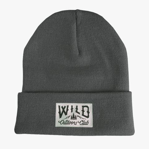 "WILD - ""TIGHT KNIT"" TOQUE / GREY"