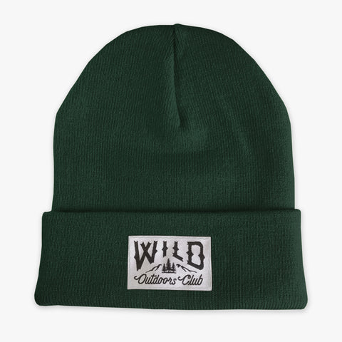 "WILD - ""WINTER KNIT"" TOQUE - FOREST"