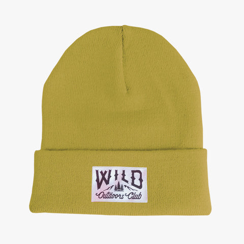 "WILD - ""WINTER KNIT"" TOQUE /  LEMONGRASS"
