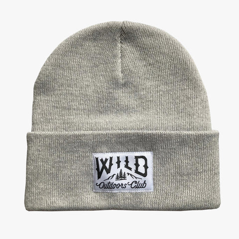 "WILD - ""WINTER KNIT"" TOQUE /  LIGHT MELANGE"