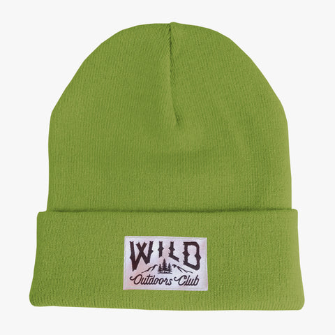 "WILD - ""TIGHT KNIT"" TOQUE / PEAR"