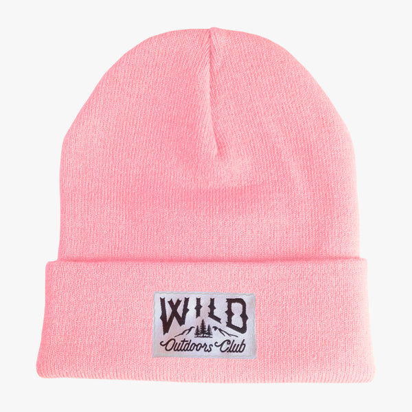 "WILD - ""TIGHT KNIT"" TOQUE / PINK"