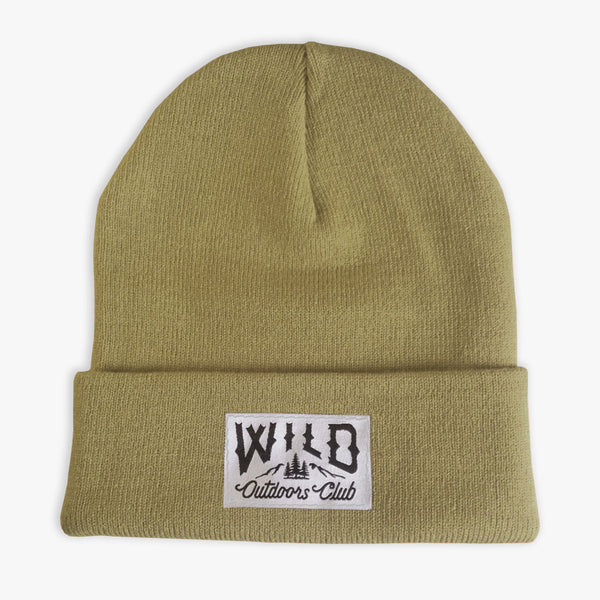 "WILD - ""WINTER KNIT"" TOQUE / SAGE"