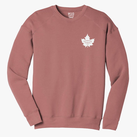 """MAPLE LEAF"" CREW NECK SWEATSHIRT"