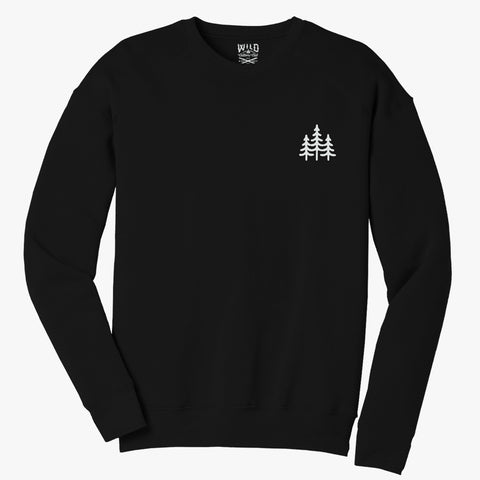 """PINES"" CREW NECK SWEATSHIRTS"