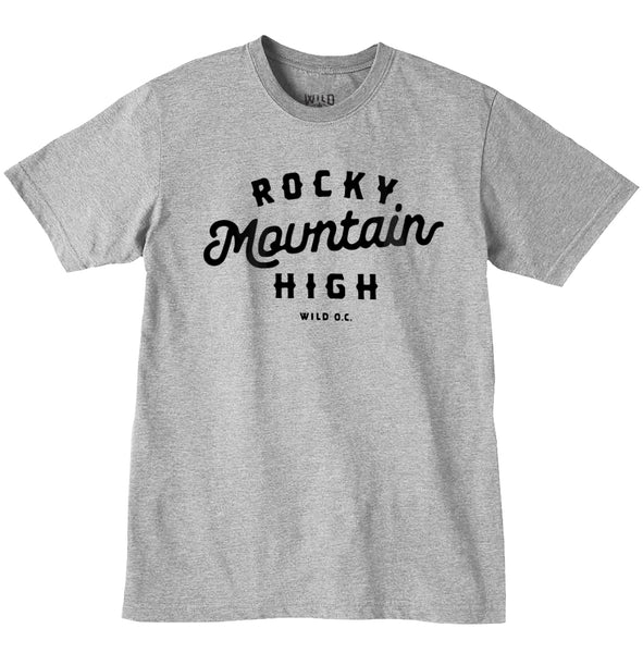 """ROCKY MTN HIGH"" - MENS TEES"