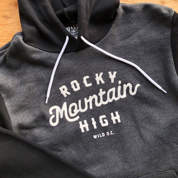"""ROCKY MOUNTAIN HIGH"" SPONGE FLEECE HOODY"