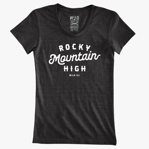 """ROCKY MOUNTAIN HIGH"" - WOMEN'S TRI-BLEND TEES"