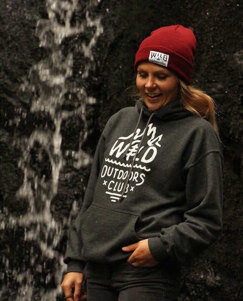 "WILD - ""TIGHT KNIT"" TOQUE / BURGUNDY"