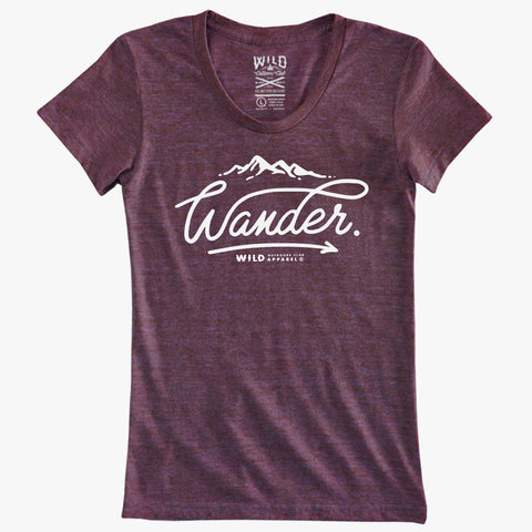 """WANDER"" Women's Tees"