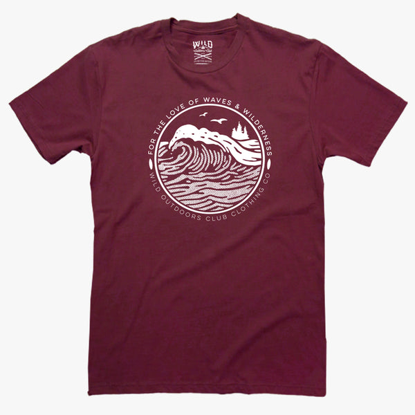 """Waves"" - Men's Tee"