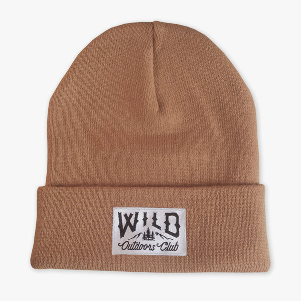 "WILD - ""WINTER KNIT"" TOQUE / SAND"