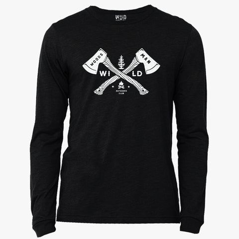 """WOODSMAN"" - LONG SLEEVE TEE"