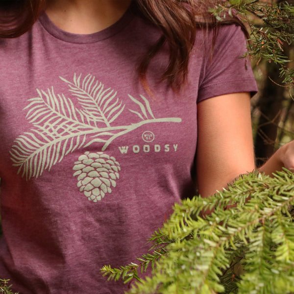 """WOODSY"" Women's Tees"