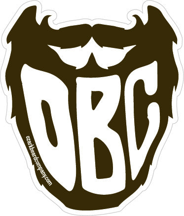 OBC Beard Sticker