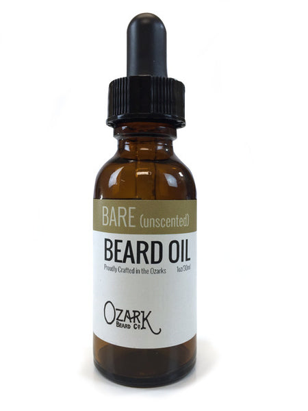 Bare Beard Oil (unscented)