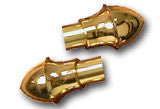 Finials for Brass Tubing