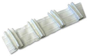 Loop Fastener Shirring Tape -  Automatic Pleat Design