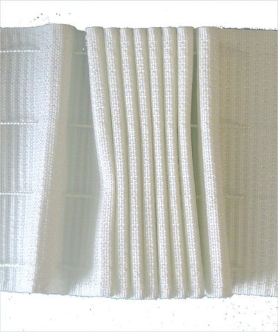 Shirring Tape - Straight Pencil Pleat Design