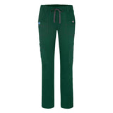 Adar Pop-Stretch Jr. Fit Low-Rise 11-Pocket Slim Cargo Pants