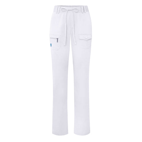 Adar Indulgence Jr. Fit Low Rise Tapered Leg 6 Pocket Drawstring Pants