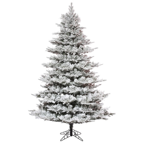 10' Flocked Unlit Pine -  - Rent-A-Christmas - Rent-A-Christmas
