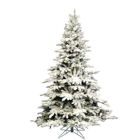 4.5' Flocked Unlit Utica Pine -  - Rent-A-Christmas - Rent-A-Christmas