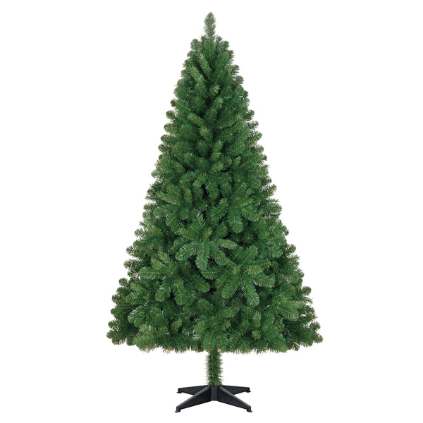 6.5' Unlit Artificial Spruce Christmas Tree - Christmas Tree, Unlit - 6.5' Artificial Christmas tree rental - no lights or decorations - Rent-A-Christmas