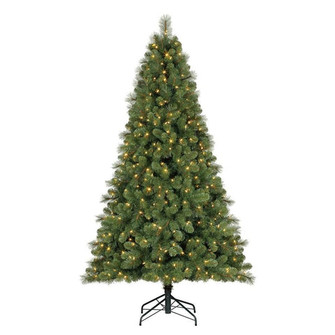9' Feels Like Home Pine with Color-Changing Lights - Artificial Pine Christmas Tree - Rent-A-Christmas - Rent-A-Christmas