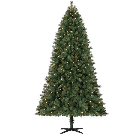 7.5' Feels Like Home Spruce with Color-Changing Lights - Christmas Tree Package - 7.5' artificial Christmas tree package with lights, ornaments, skirt, star and tinsel - Rent-A-Christmas