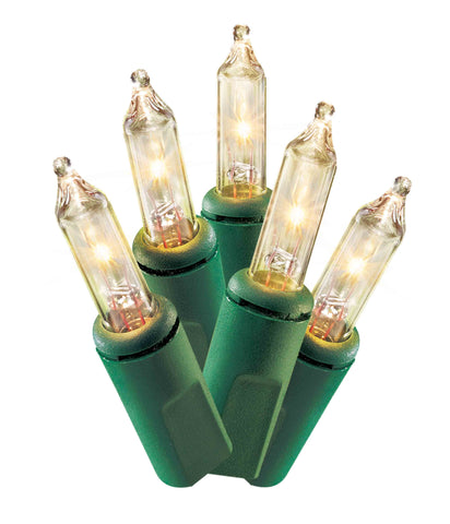 Twinkling Mini Warm White Lights - Christmas Rental Package - Warm white lights in various lengths - Rent-A-Christmas