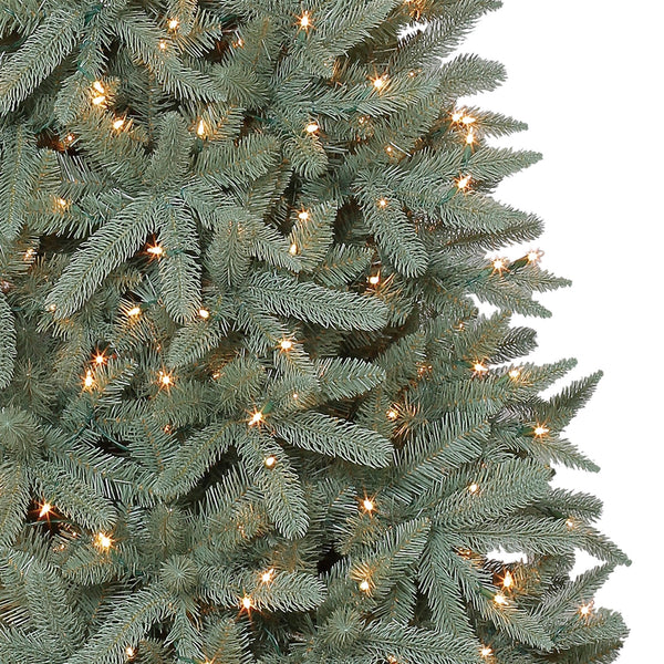 Feels Like Home 7.5' Birchwood with White Lights - Christmas Tree Package - 7.5' artificial Christmas tree package with lights, ornaments, skirt, star and tinsel - Rent-A-Christmas
