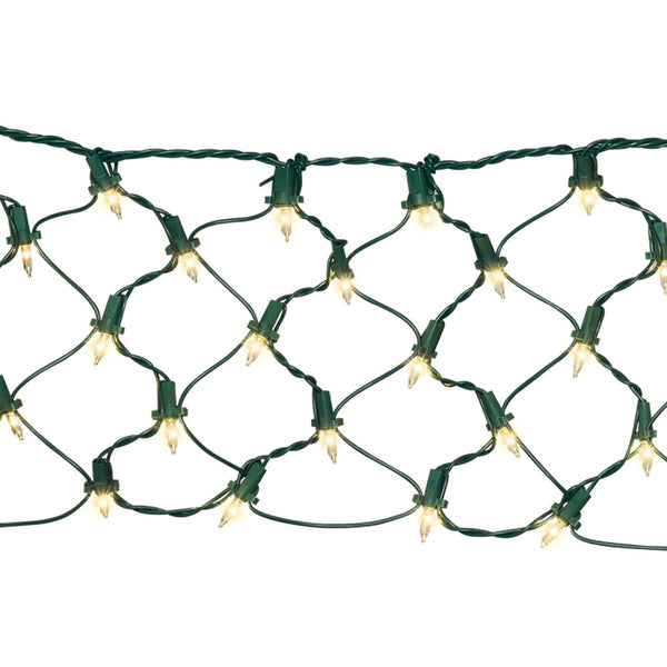 Net Lights - Christmas Rental Package - 6' x 4' Net Lights with Clear Lights - Rent-A-Christmas