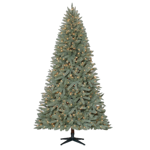 7.5' Feels Like Home Birch with White Lights - Christmas Tree Package - 7.5' artificial Christmas tree package with lights, ornaments, skirt, star and tinsel - Rent-A-Christmas
