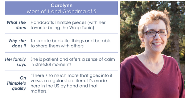 Meet the Moms: Carolynn