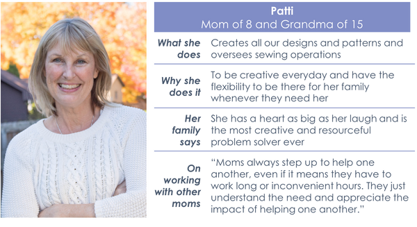 Meet the Moms: Patti