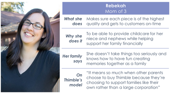 Meet the Moms: Rebekah