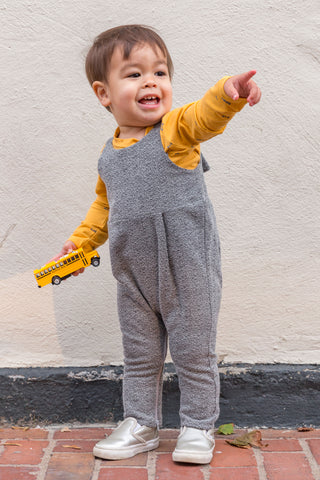 Playtime Overall in Slate Flannel