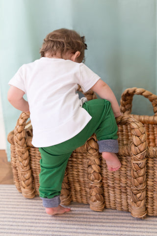 Riley Everyday Pant in Green Jersey - Thimble - Pants - 2