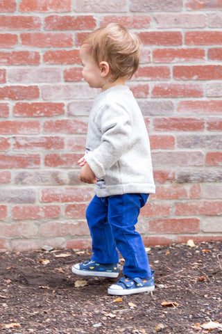 Riley Everyday Pant in Royal Corduroy