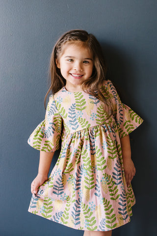 Party Dress in Fern