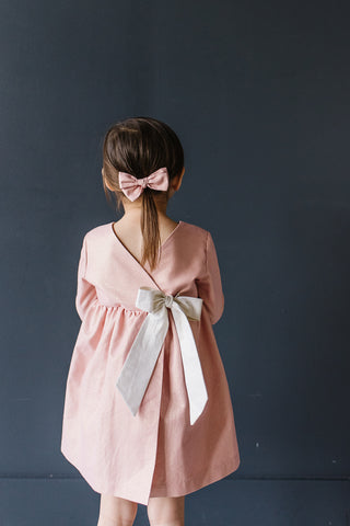 Wrap Dress in Sparkling Blossom