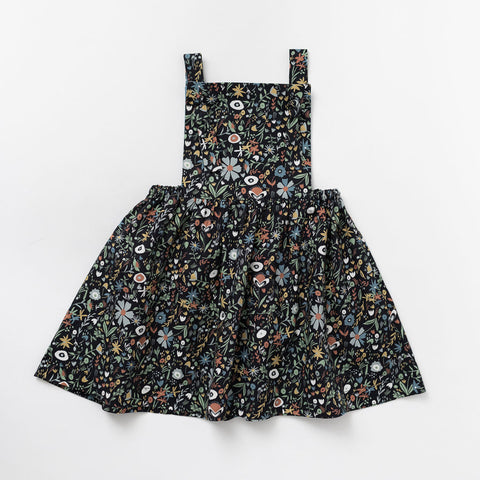 Pinafore Dress in Thicket