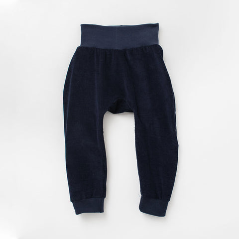 Jogger Pant in Navy Corduroy