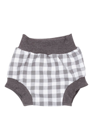 Bloomer Short in Gray Gingham - Thimble - Pants - 1