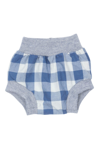 Bloomer Short in Pacific Gingham